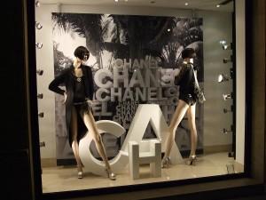 Vetrina Chanel